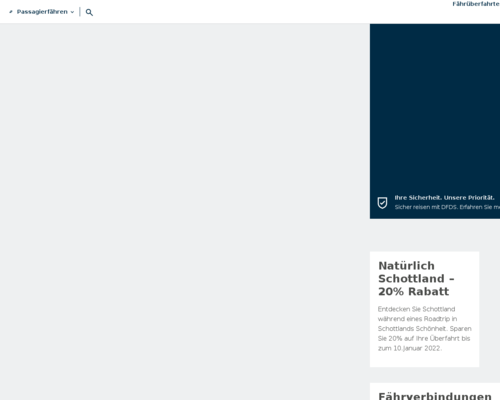 dfdsseaways.de screenshot