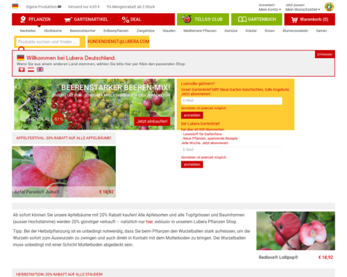 lubera.com screenshot