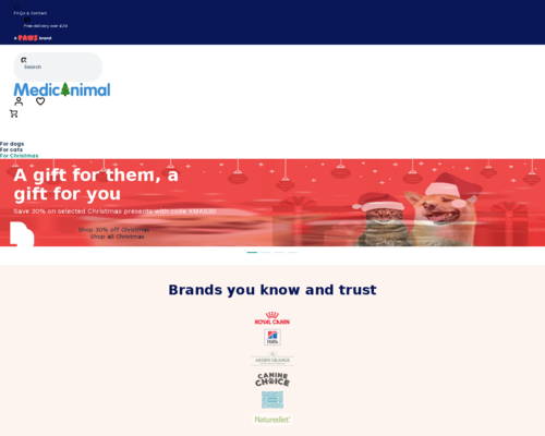 medicanimal.com screenshot