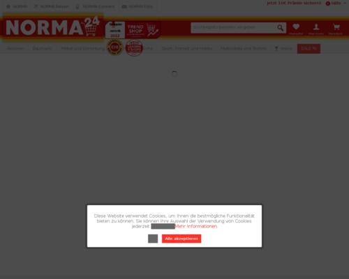Norma24 gutschein april 2018 5 rabatt code 79 ontop for Norma24 online shop