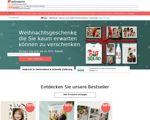 optimalprint.de screenshot