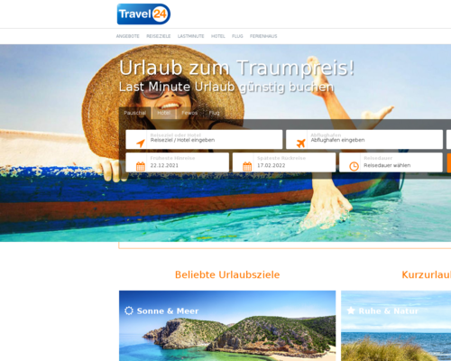 travel24.com screenshot