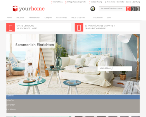 yourhome.de screenshot