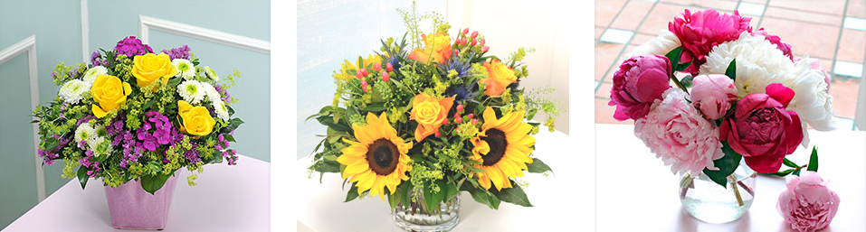 Sommerliche Blumengrüsse bei Blume2000