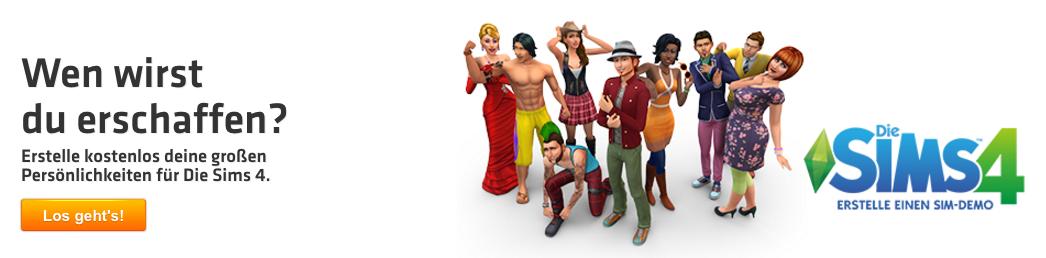 Die Sims bequem online ordern