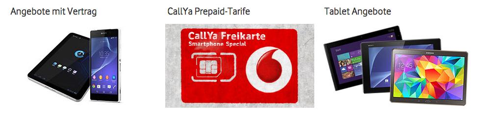 Vodafone Gutschein nutzen und sparen