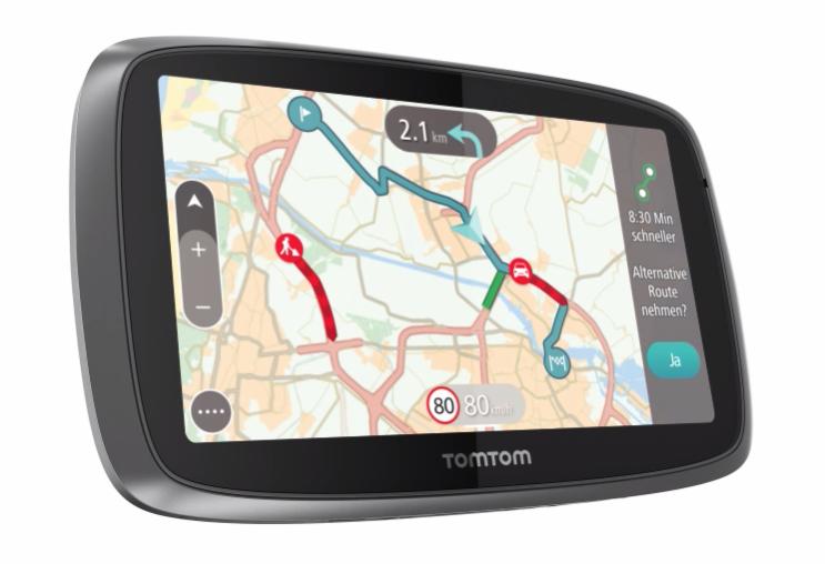 Hochwertige GPS Geräte bei TomTom