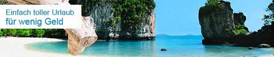 Urlaub besonders günstig buchen