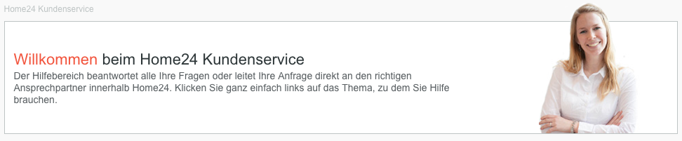 Top Service bei Home24