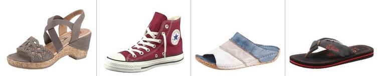 Viele Schuhe und Stiefel bei Im Walking