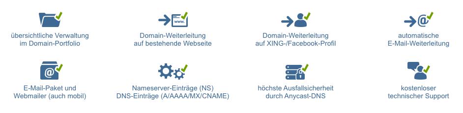 Viele Domains besonders günstig
