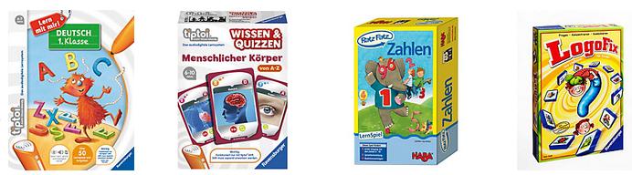 Tolle Auswahl an Spielen und Kindermode