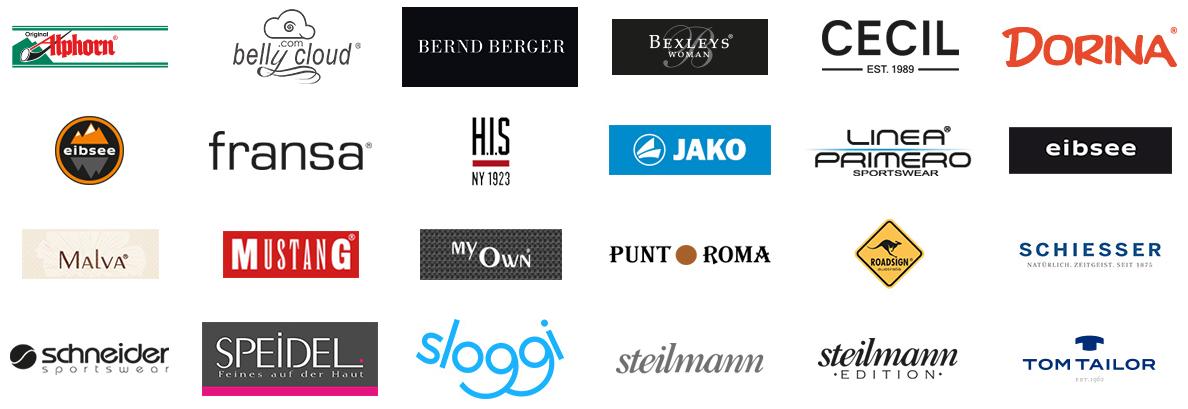 Viele beliebte Marken im Adler Shop