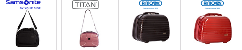 Tascheon oder Koffer mit Garantie