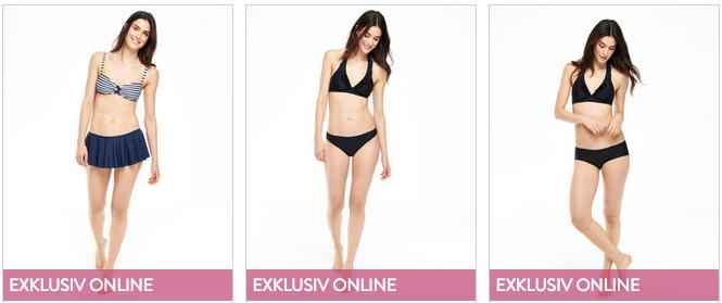 Nur online verfügbare Mode