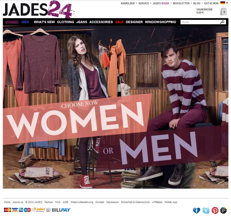 Screenshot Jades24 Shop