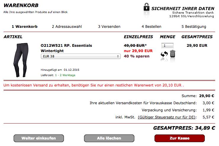 Euer SP24 Warenkorb
