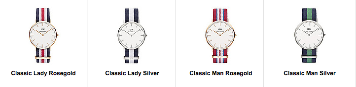 Markenuhren bei Uhrendirect