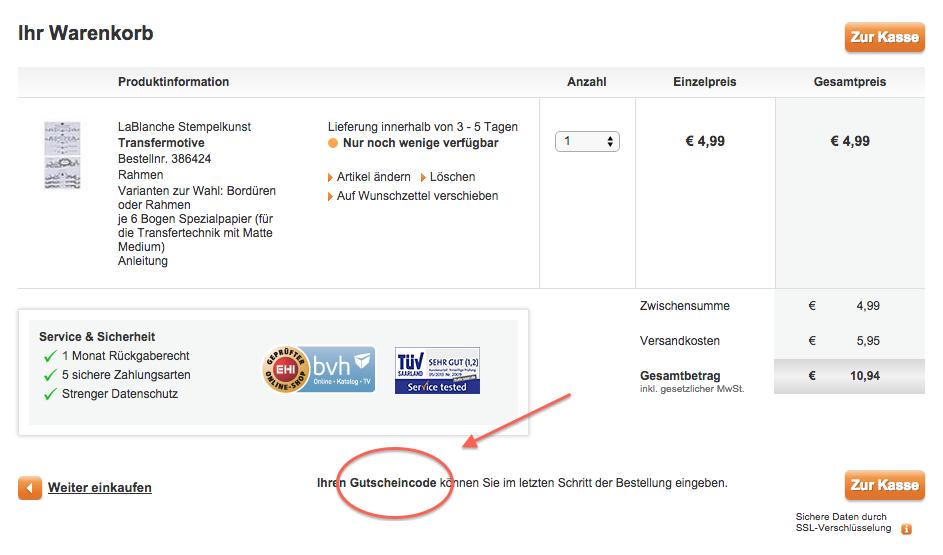 Mitd em HSE24 Gutscheincode sparen