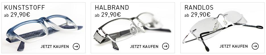 Brillen bequem online bestellen