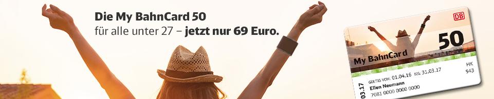 Attraktive Preise bei der Deutschen Bahn