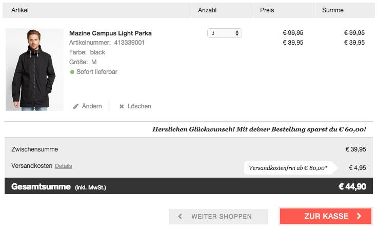 Einfach bestellen und sparen