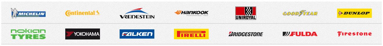 Marken im Reifen.com Shop