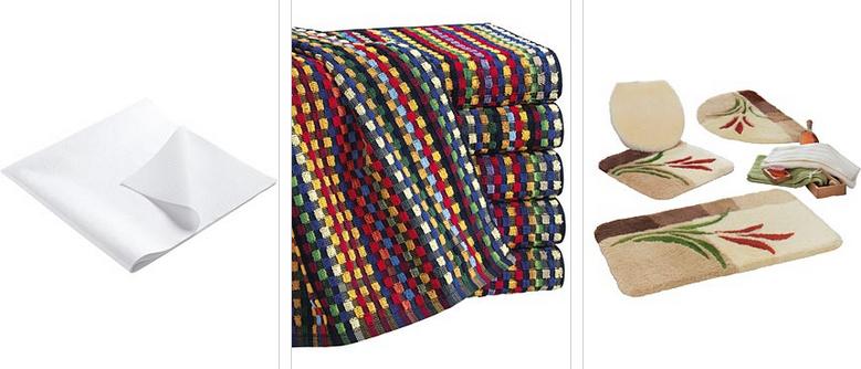 Große Auswahl an Textilien und Deko