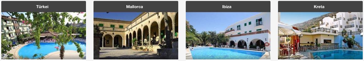 Urlaub bequem bei Expedia buchen