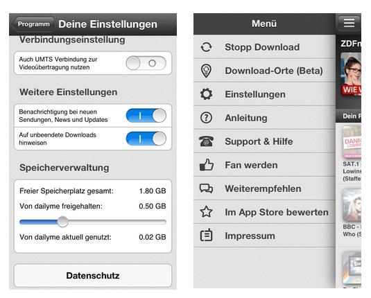Screenshot dailyme App 02