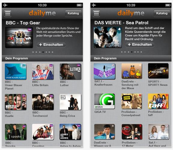 Screenshot dailyme App 03