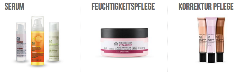Perfekter Service bei The body Shop